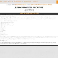 Illinois Digital Archives IAD OnGenealogy