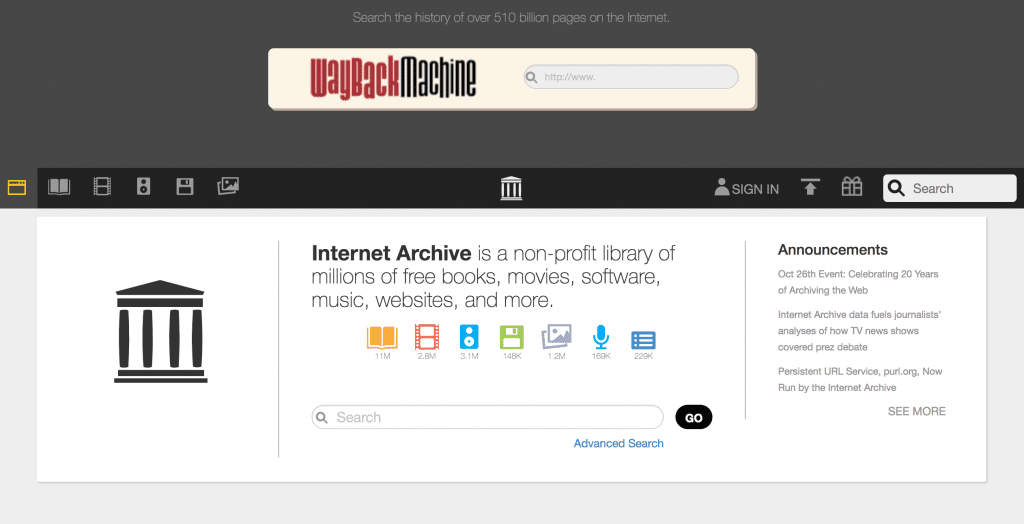 Internet Archive for Genealogy