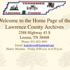 Lawrence%20County%20Archives%20Tennessee