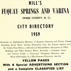 Fuquay%20Springs%20and%20Varina%20City%20Directories%20at%20DigitalNC