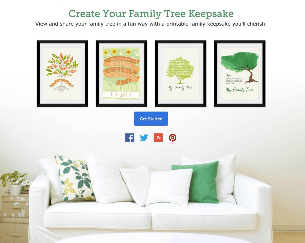 FamilySearch Keepsakes