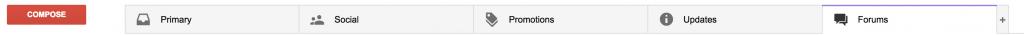 Gmail folders