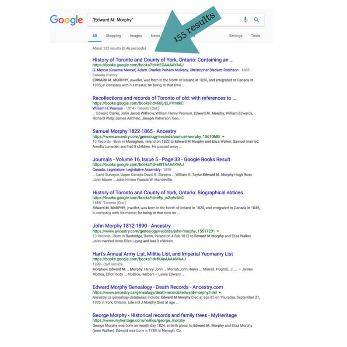 Google.com search results