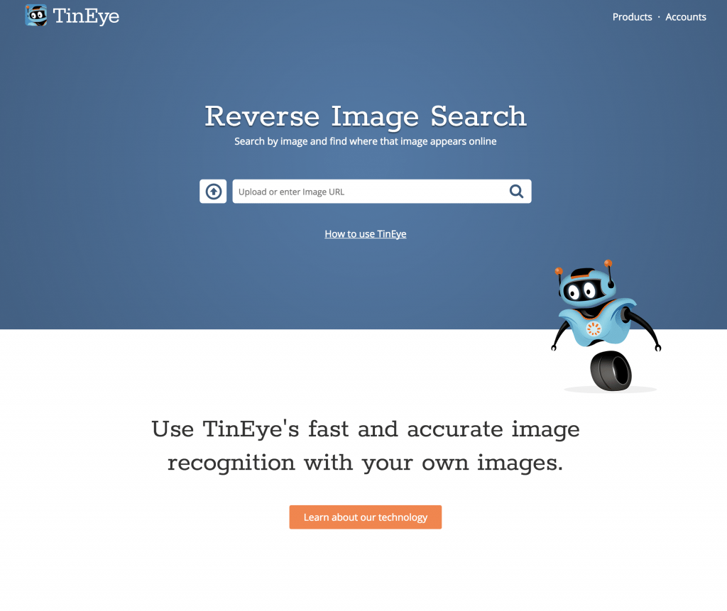 TinEye for Reverse Image Search