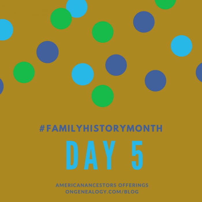 family history month americanancestors NEHGS