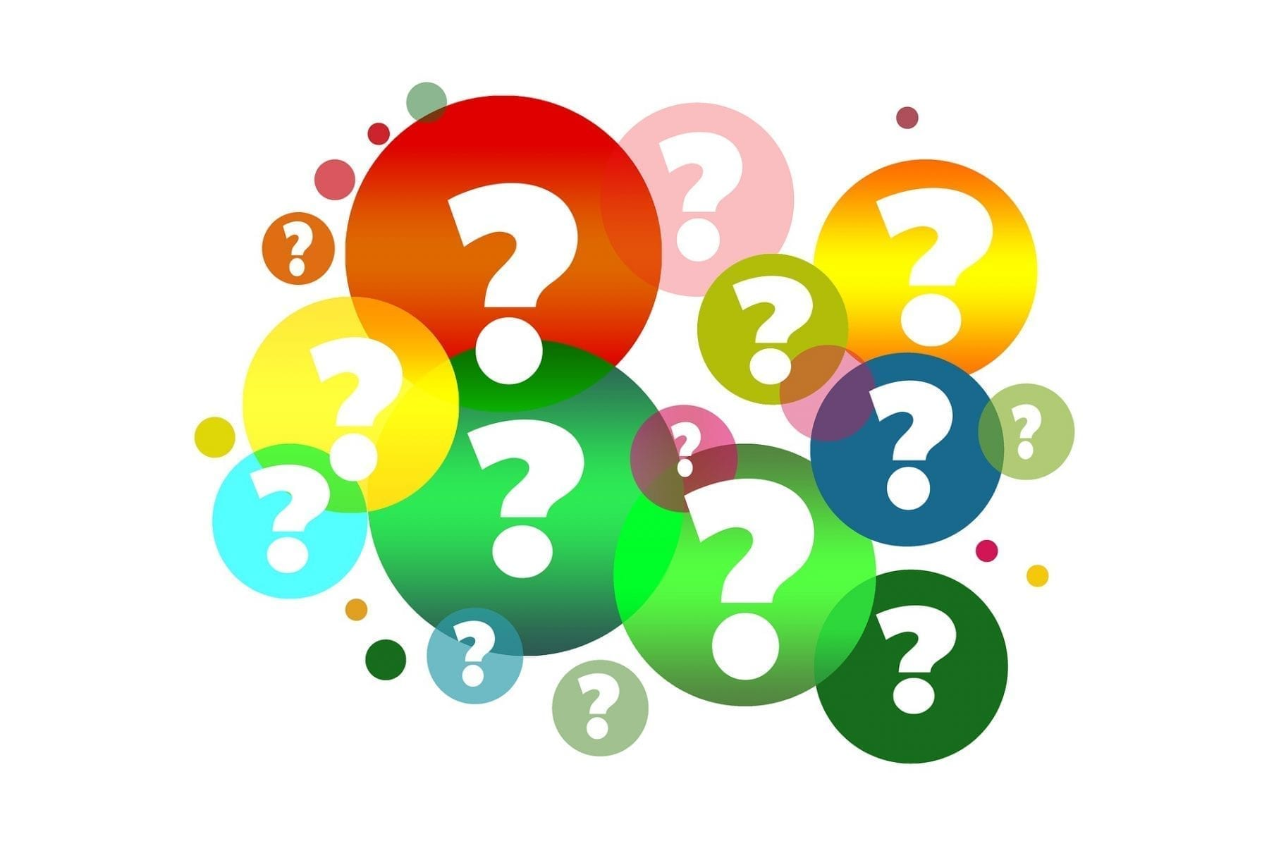 CC0 question mark image by geralt on pixabay OnGenealogy blog on Why FamilySearch now requires users to create an account