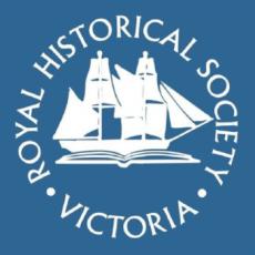 Royal Historical Society Victoria logo for listing at OnGenealogy