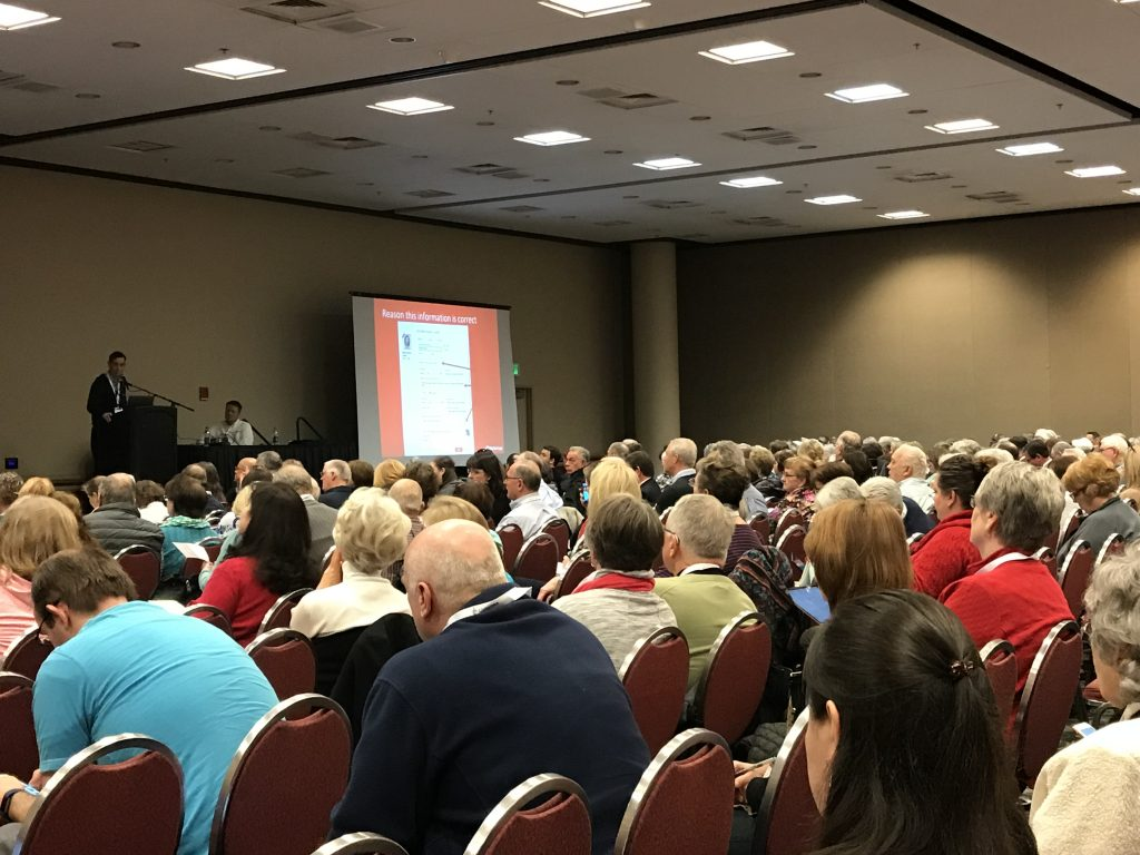 Image of class at RootsTech 2018