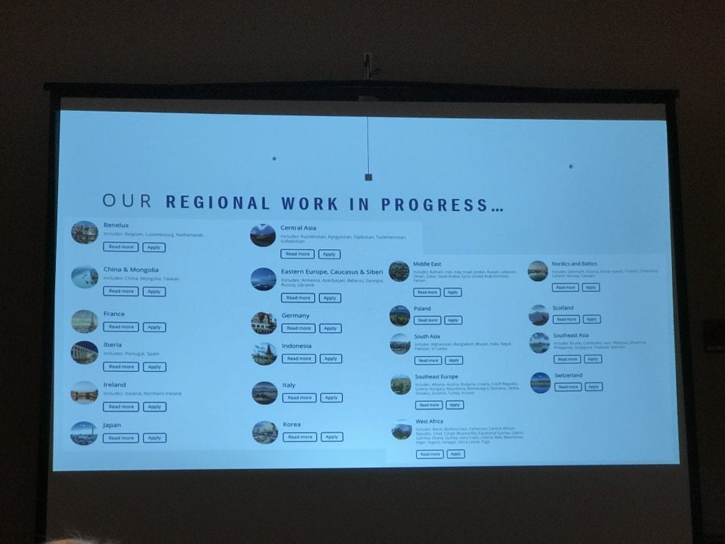 Image of a list of Regional DNA Projects at LivingDNA you can apply to be part of