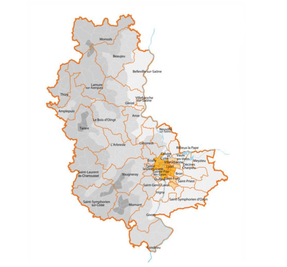 Image of the Rhône region of France