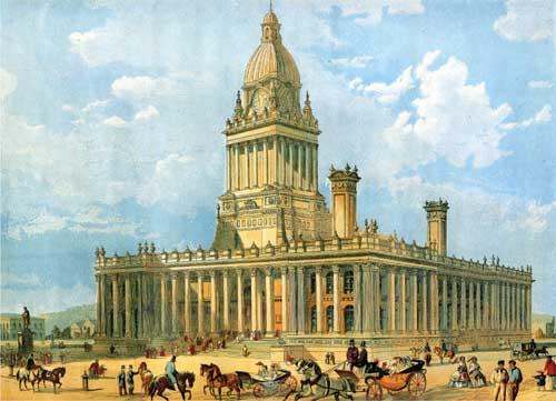 Image of Leeds townhall clock tower