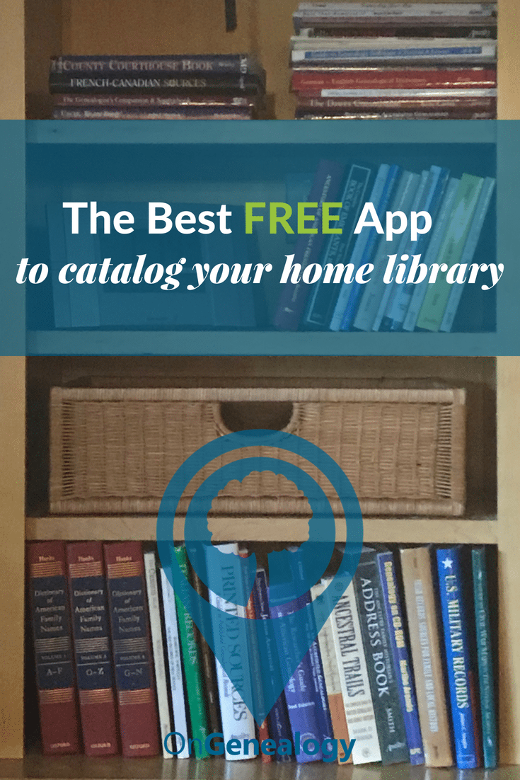 The Best free app to catalog your home library