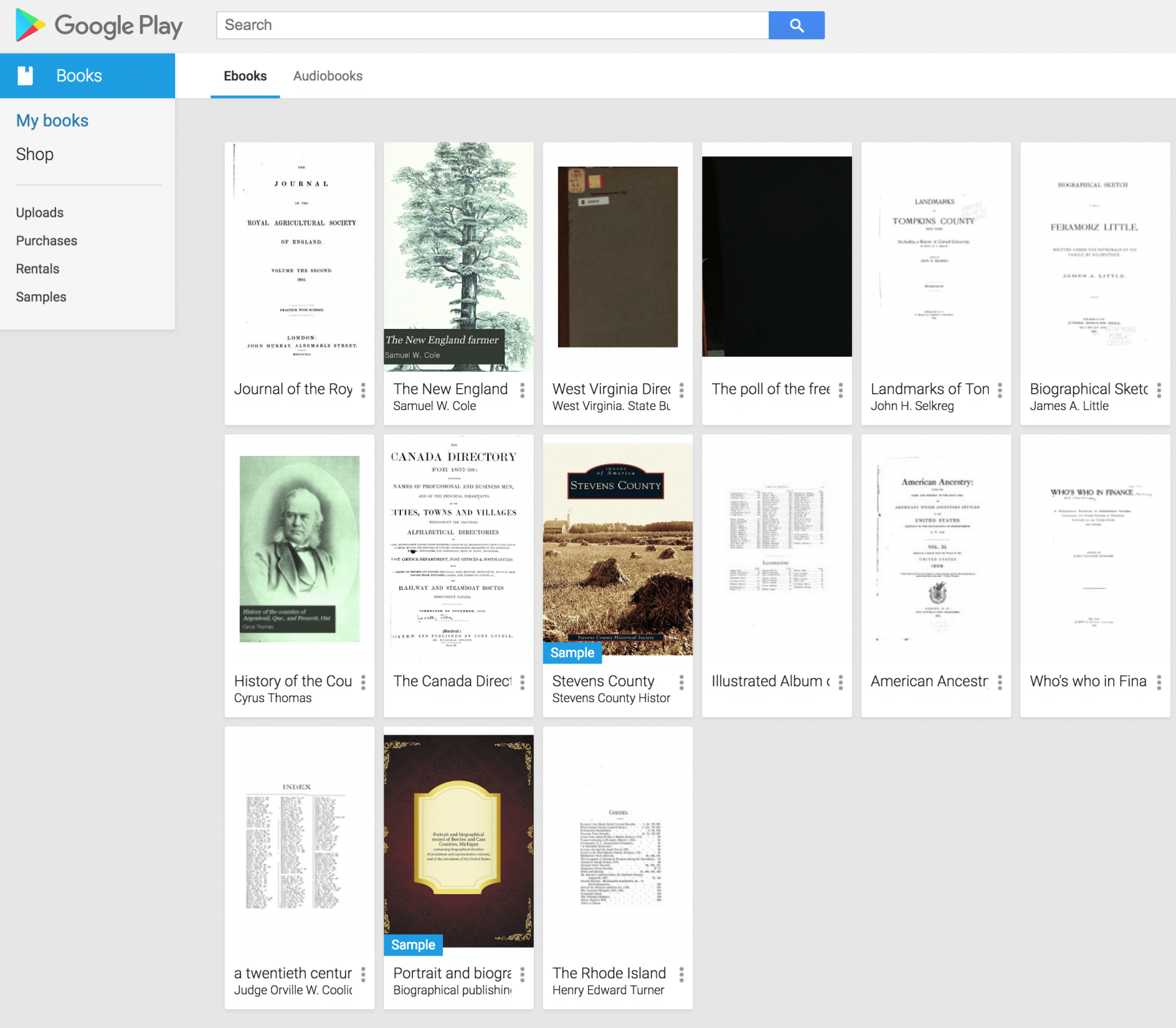 My Library at Google Books