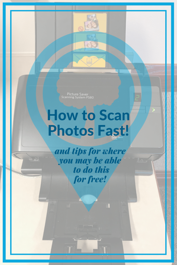How to Scan Photos Fast and tips for where you may be able to do this for free