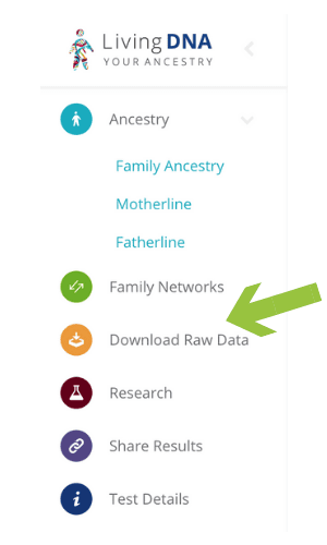 LivingDNA Download Raw Data #OnGenealogy How to Download DNA Raw Data from LivingDNA