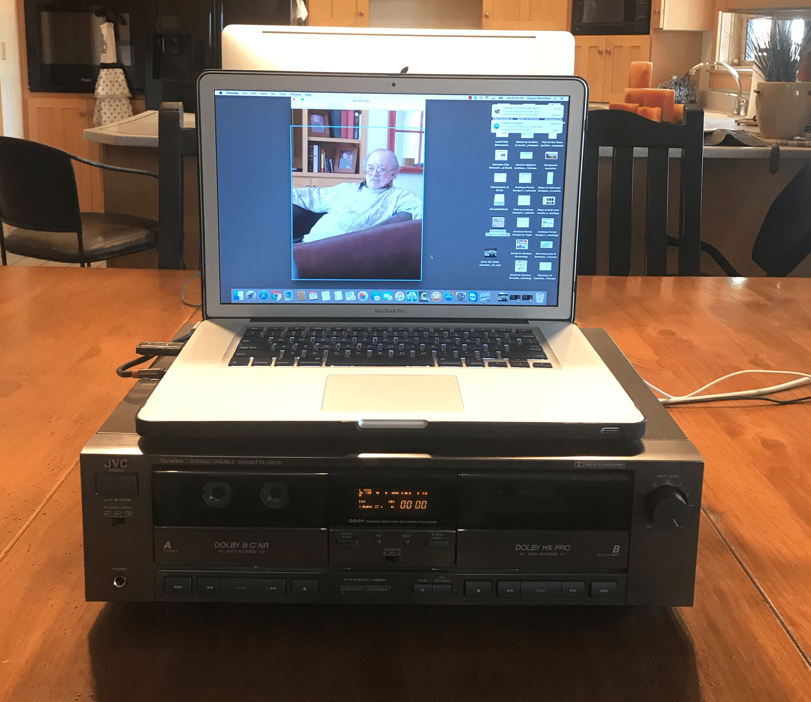Turning old cassette tapes into digital files