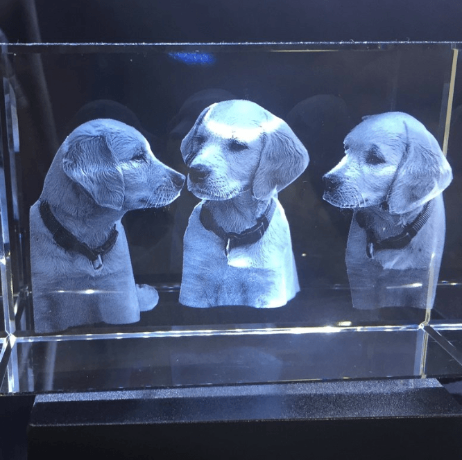 Garbero Gifts etched crystal 3D crystal gifts #OnGenealogy